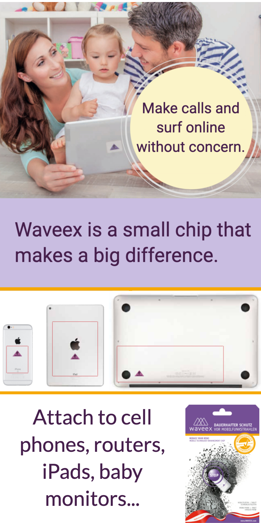 Waveex chip cell phone