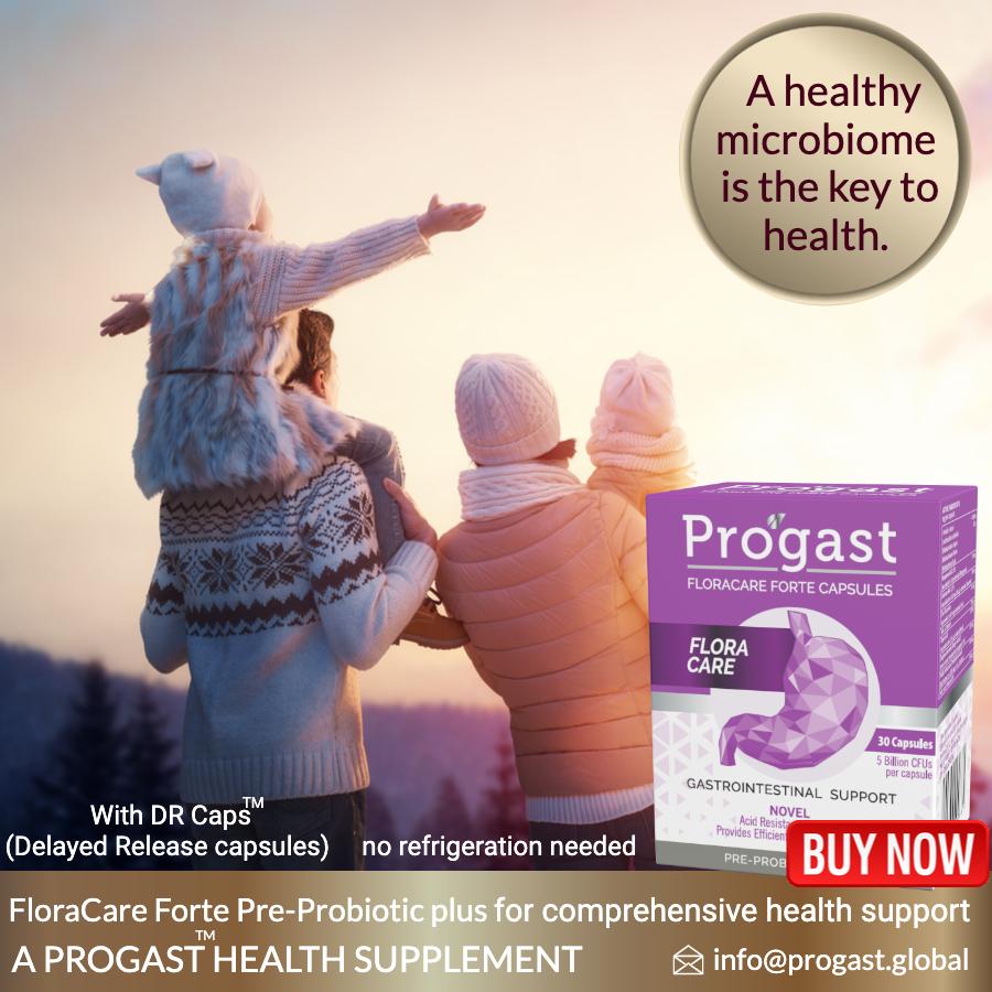 FLORACARE probiotic progast