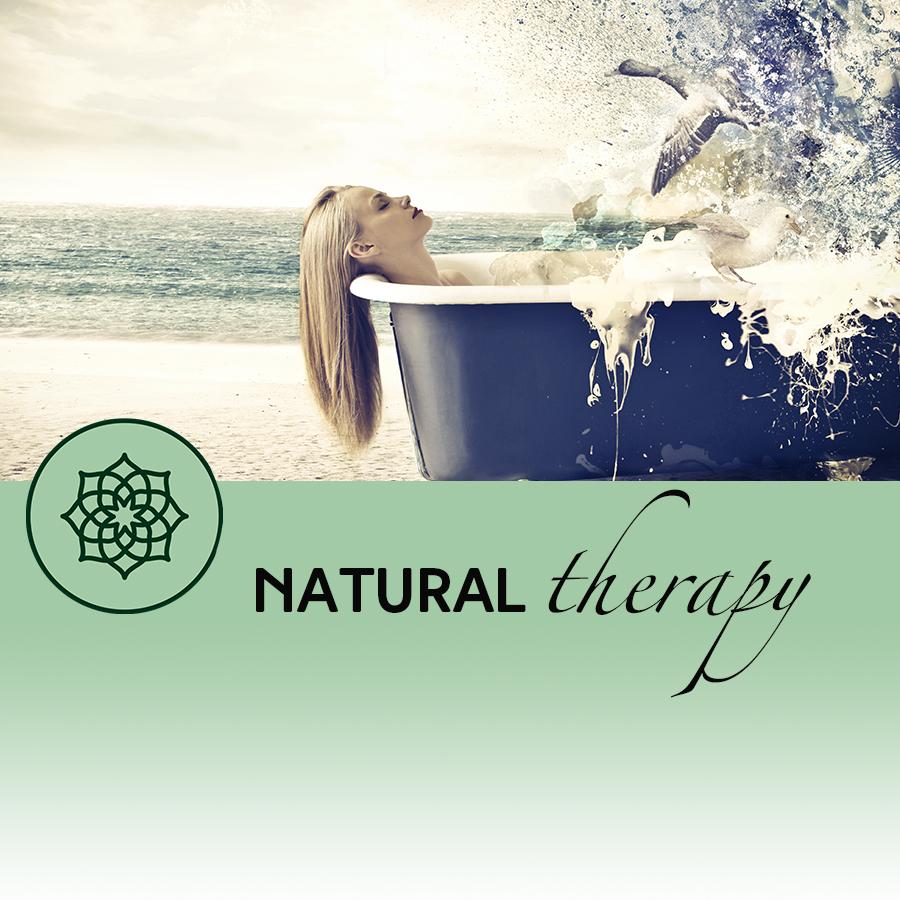 woman in bath detox
