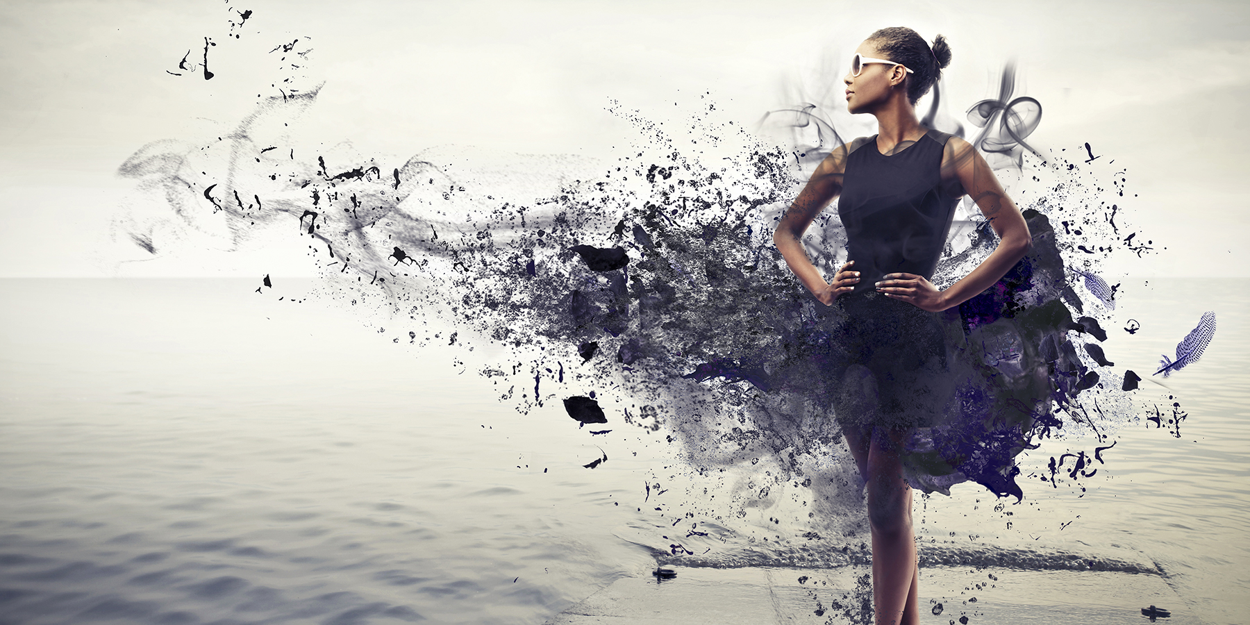 detox dress black