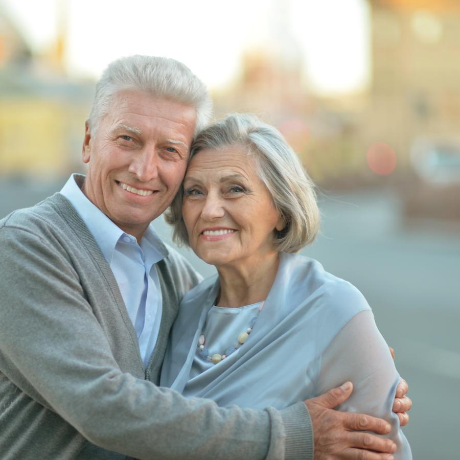elderly couple IBS
