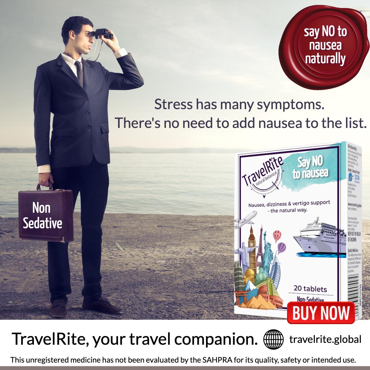 TravelRite stress nausea