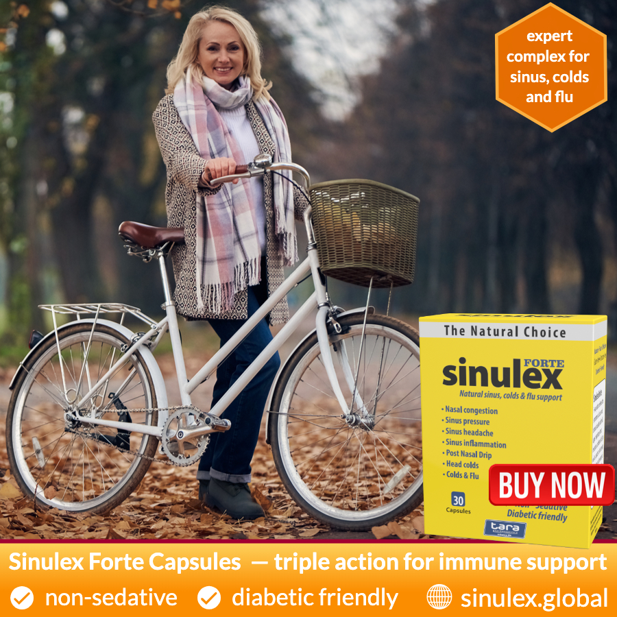 Product Review - Sinulex Forte Sinulex Capsules advert