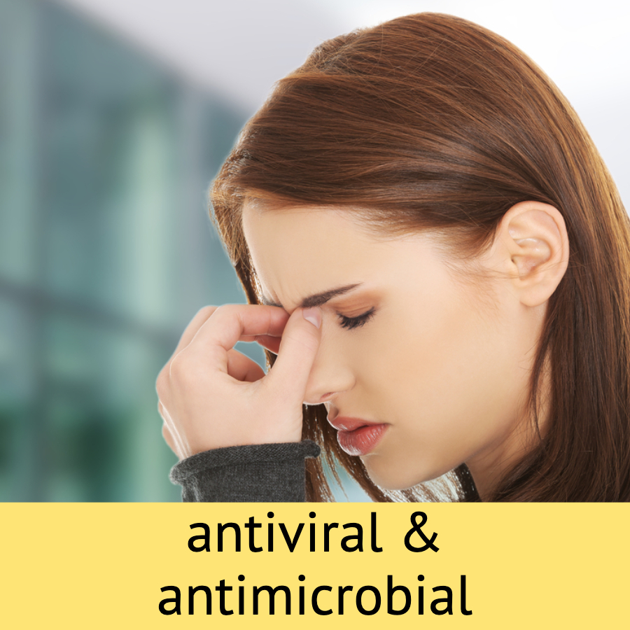 Sinulex capsules product review antiviral antimicrobial sinus