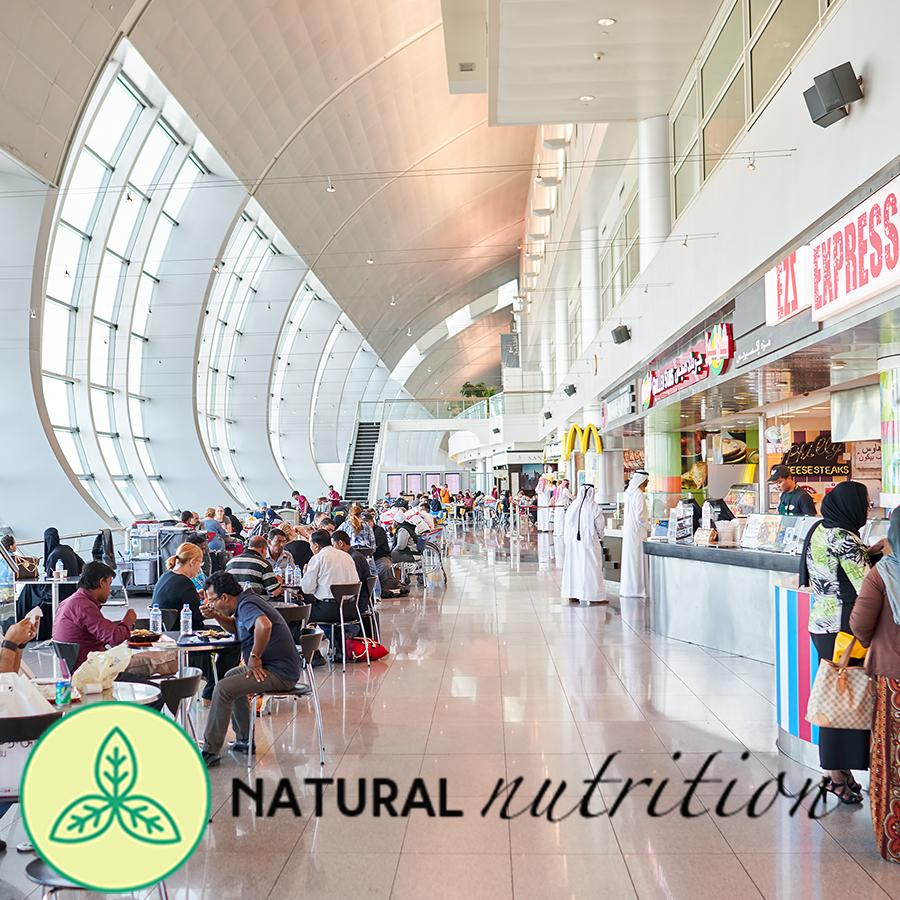 airport travel food