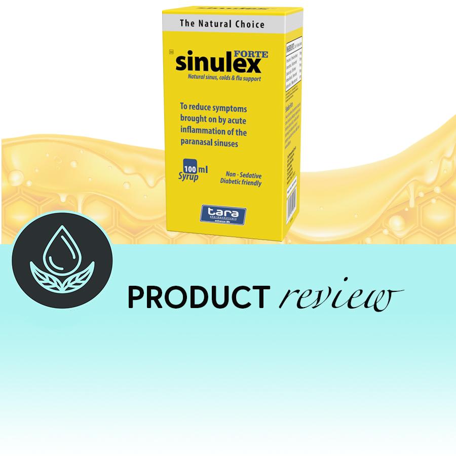 Sinulex syrup cough