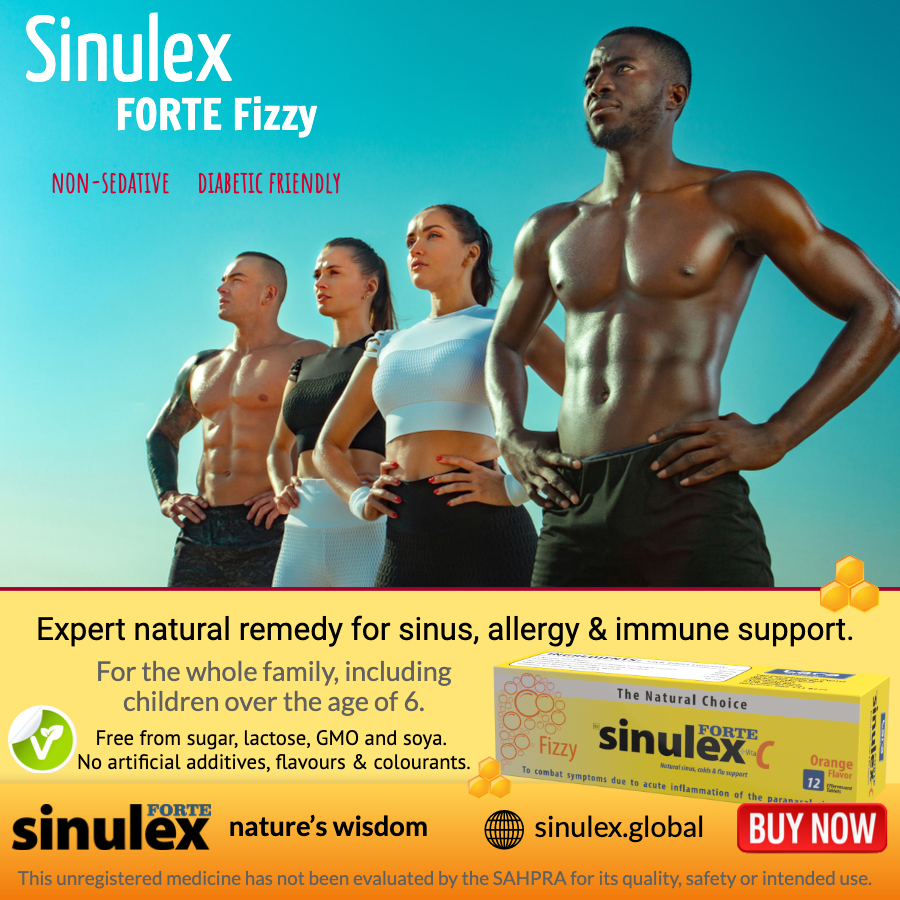 Sinulex fit sport people effervescent