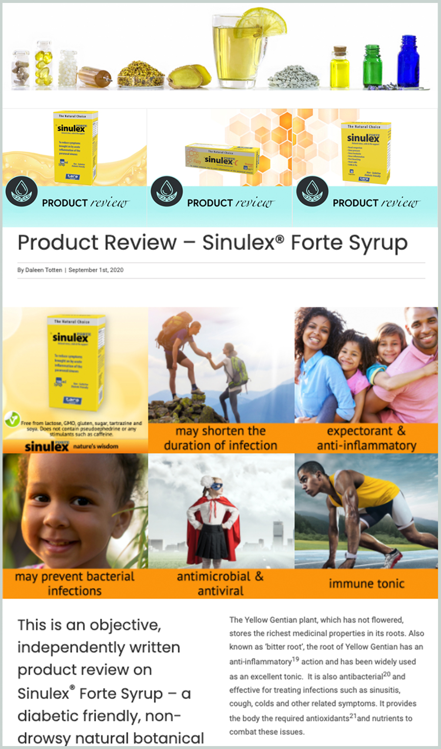 Product Review Examples