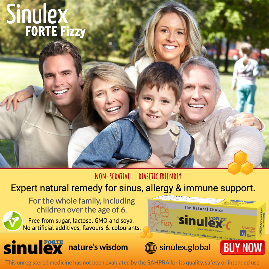 Sinulex syrup family