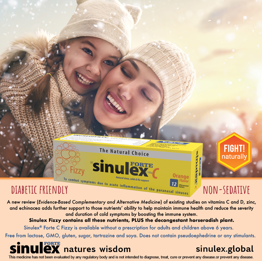 Sinulex Fizzy winter advert