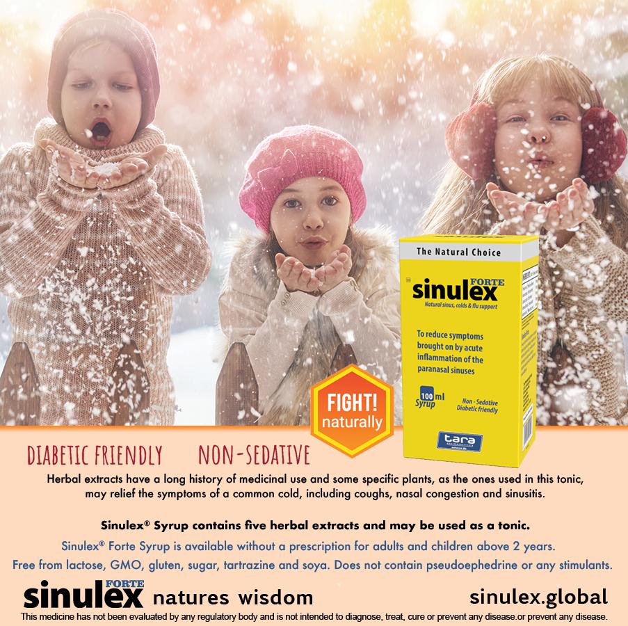 Sinulex Syrup winter advert