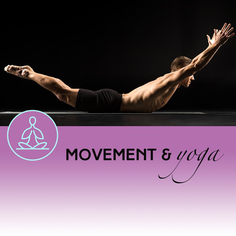 Movement & yoga Raise your energy levels with Yoga